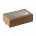 Коробка на 12 макарун с окном