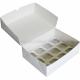 Коробка на 12 капкейков, белая