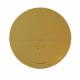 Подложка усиленная (3,2 мм) золото/жемчуг D 240 мм