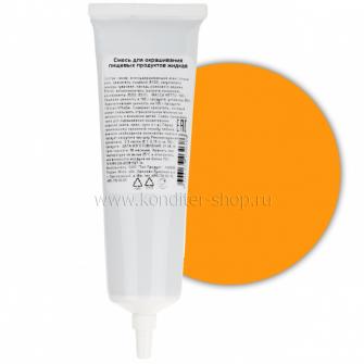 Краситель пищевой гелевый Топ продукт Оранжевый, 100 гр