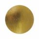 Подложка усиленная (1,5 мм) золото/жемчуг D 180 мм