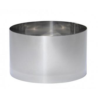 Кольцо нержавеющее d30 h8 см