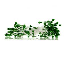 Тычинки для цветов зеленые, 94 шт