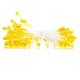 Тычинки для цветов желтые, 94 шт