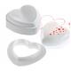 Форма силиконовая Сердце с вырубкой, 170х164 мм