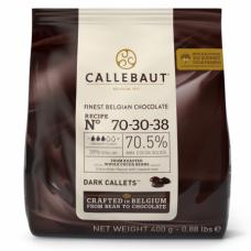 Шоколад Callebaut в таблетках, горький 70,5%, 400 гр