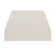 Шпатель пластиковый Прямой, 19.5х12.5 см