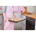Фартук для кухни Розовая полоска 56х94 см