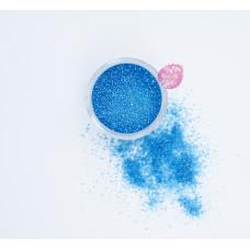 Пищевые блестки Голубые 0,5-1 мм, 5 г