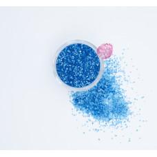 Пищевые блестки Голубые 2 мм, 5 г