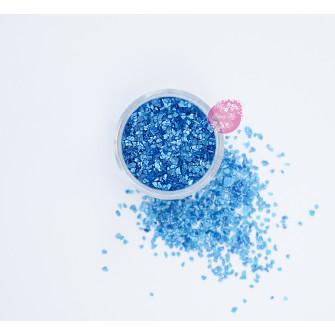 Пищевые блестки Голубые 3-5 мм, 5 г