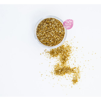 Пищевые блестки Латте 2 мм, 5 г