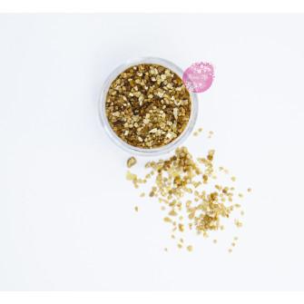 Пищевые блестки Латте 3-5 мм, 5 г