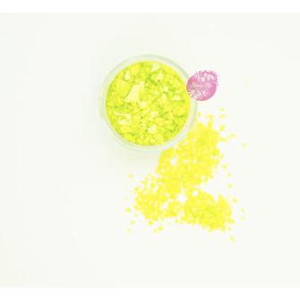 Пищевые блестки Лимон 3-5 мм, 5 г