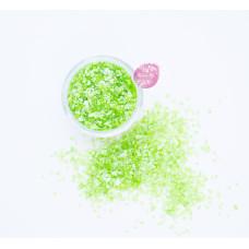 Пищевые блестки Лужайка 3-5 мм, 5 г