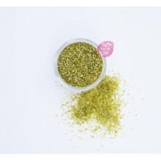 Пищевые блестки Олива 2 мм, 5 г