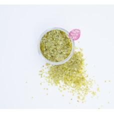 Пищевые блестки Олива 3-5 мм, 5 г