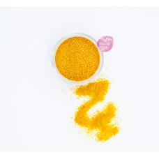 Пищевые блестки Оранжевые 0,5-1 мм, 5 г