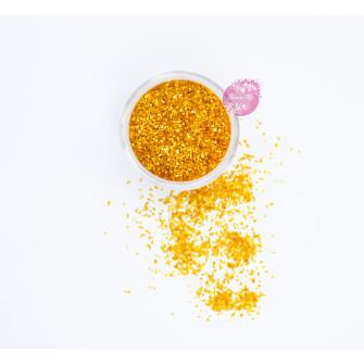 Пищевые блестки Оранжевые 2 мм, 5 г