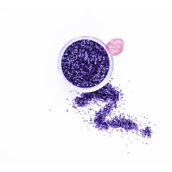 Пищевые блестки Пурпурные 2 мм, 5 г