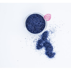 Пищевые блестки Темно-синие 0,5-1 мм, 5 г