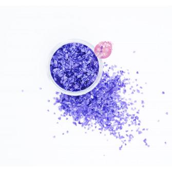 Пищевые блестки Виолет 3-5 мм, 5 г