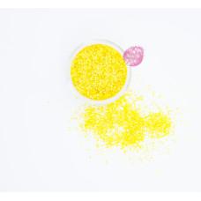 Пищевые блестки Желтые 2 мм, 5 г