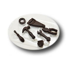 "Форма для шоколада ""Инструменты"""