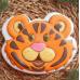"""Форма для пряников """"Тигр"""", 9.8х8.3 см"""