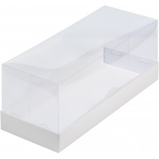Коробка белая под рулет 30х12х12 см