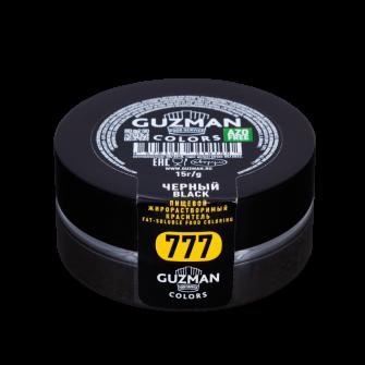 Краситель жиро/водорастворимый Guzman черный, 15 гр