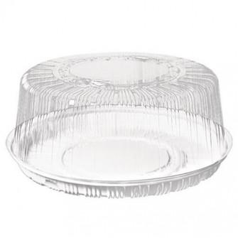Пластиковый контейнер для торта d26 см h13 см