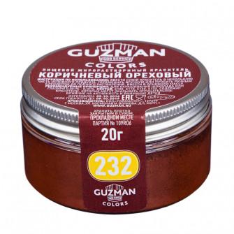 Краситель жирорастворимый Guzman корич/ореховый, 20 гр