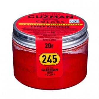Краситель жирорастворимый Guzman супер красный, 20 гр