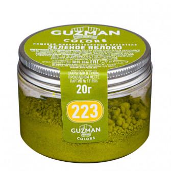 Краситель жирорастворимый Guzman зеленое яблоко, 20 гр