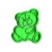 """Форма для пряников с оттиском """"Мишка с сердцем №2"""", 10 см"""
