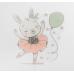 """Топпер пластик """"Танцующий зайчик"""", 13,5х8 см"""