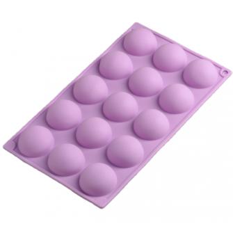 Форма силиконовая Полусфера, 4,5х1,2 см