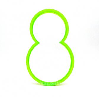 Форма для пряников 8 Марта №2, 10 см