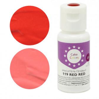 Гелевый краситель RED RED, Cake Colors, 20 гр