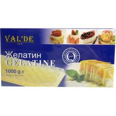 Желатин листовой VAL'DE (EWALD), 1 кг