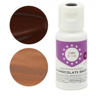 Гелевый краситель CHOCOLATE BROWN, Cake Colors, 20 гр