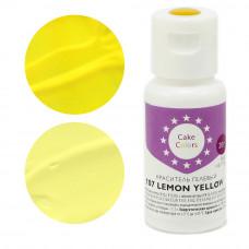 Гелевый краситель LEMON YELLOW, Cake Colors, 20 гр
