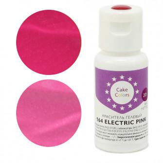 Гелевый краситель ELECTRIC PINK, Cake Colors, 20 гр