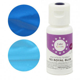 Гелевый краситель ROYAL BLUE, Cake Colors, 20 гр