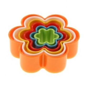 """Набор форм для пряников """"Цветок"""", 5 шт, цвет микс"""
