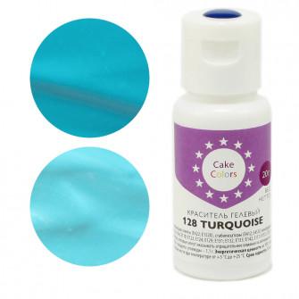 Гелевый краситель TURQUOISE, Cake Colors, 20 гр