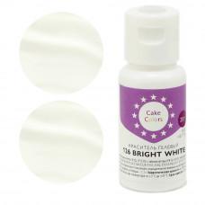 Гелевый краситель BRIGHT WHITE, Cake Colors, 20 гр