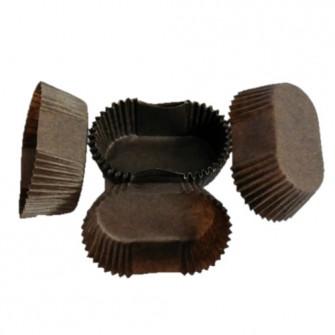 Капсулы овал, коричневые 28*78*24,5 мм, 100 шт