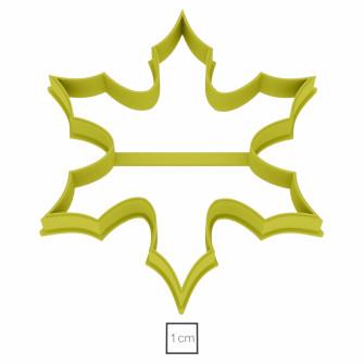 """Форма для пряников """"Снежинка №3"""", 8 см"""
